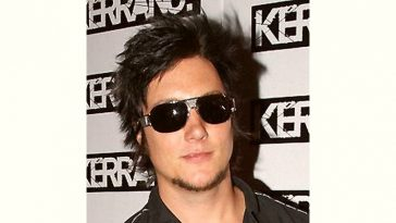 Synyster Gates Age and Birthday