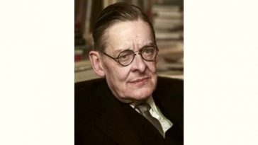 T. S. Eliot Age and Birthday
