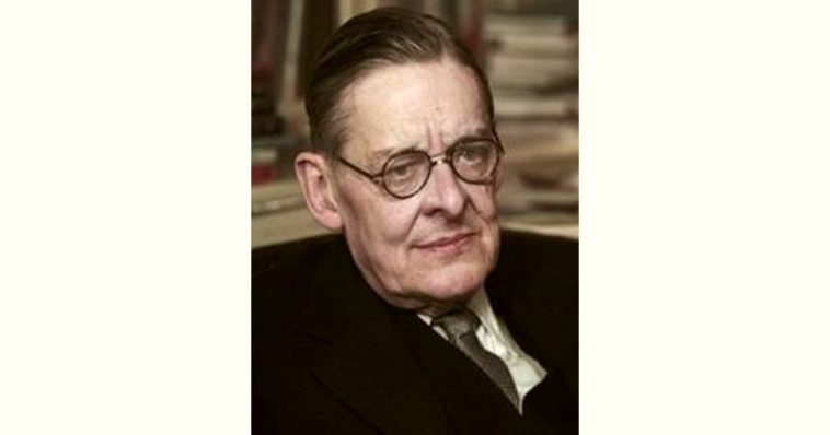 T. S. Eliot Age and Birthday