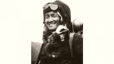 Tenzing Norgay Age and Birthday