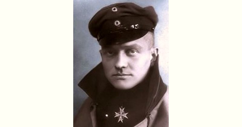 The Red Baron Age and Birthday