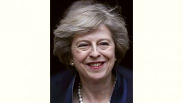 Theresa May Age and Birthday
