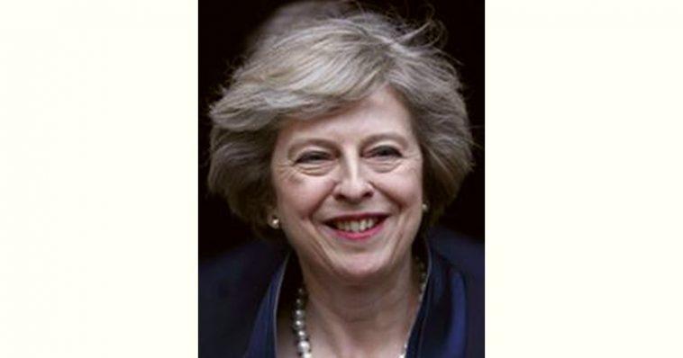 Theresa May Age and Birthday