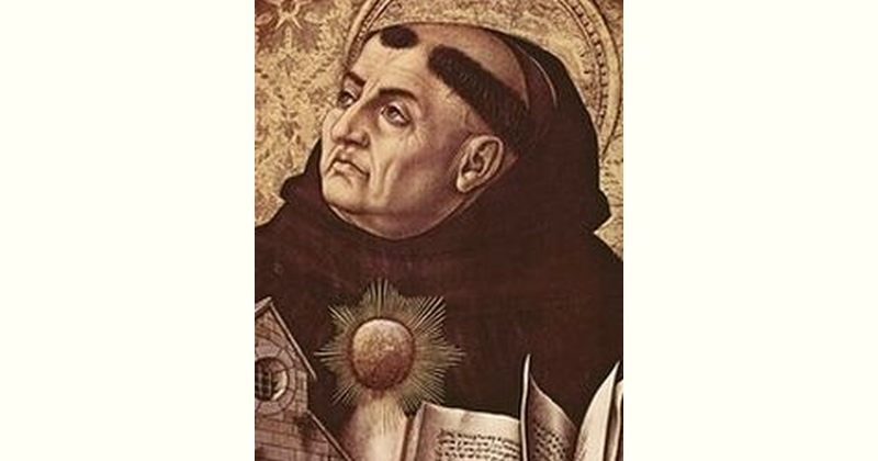 Thomas Aquinas Age and Birthday