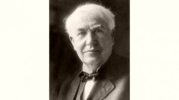 Thomas Edison Age and Birthday