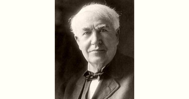 Thomas Edison Age and Birthday