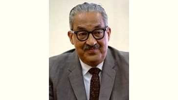 Thurgood Marshall Age and Birthday