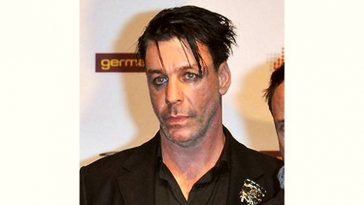 Till Lindemann Age and Birthday