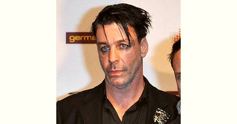Till Lindemann Age and Birthday