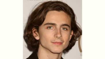 Timothee Chalamet Age and Birthday