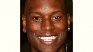 Tyrese Gibson Age and Birthday