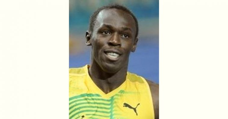 Usain Bolt Age and Birthday