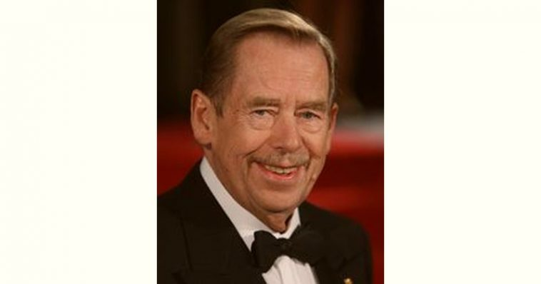 Václav Havel Age and Birthday