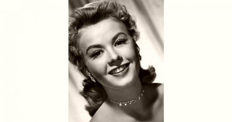 Vera-Ellen Age and Birthday