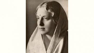 Vijaya Lakshmi Pandit Age and Birthday