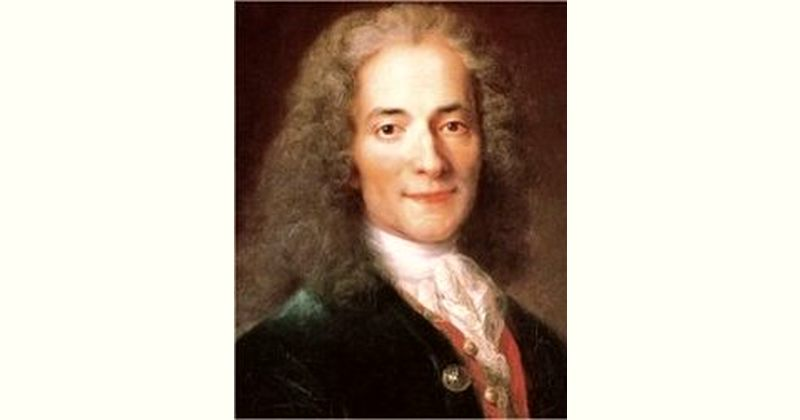 Voltaire Age and Birthday