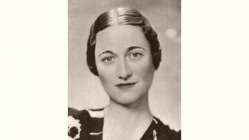 Wallis Simpson Age and Birthday