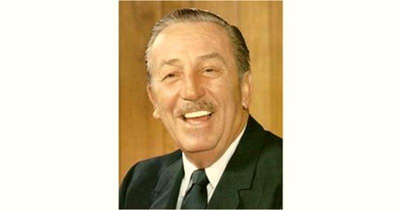 Walt Disney Age and Birthday