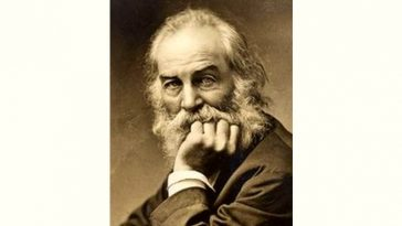 Walt Whitman Age and Birthday