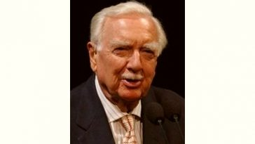 Walter Cronkite Age and Birthday