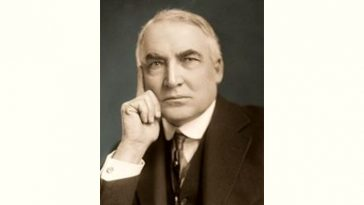 Warren G. Harding Age and Birthday