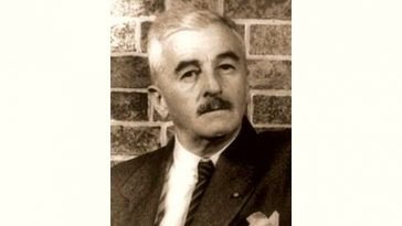 William Faulkner Age and Birthday