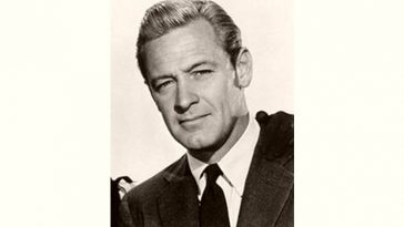 William Holden Age and Birthday