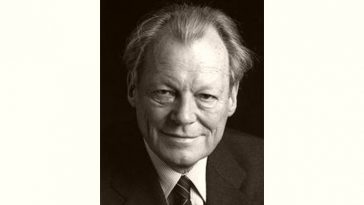 Willy Brandt Age and Birthday