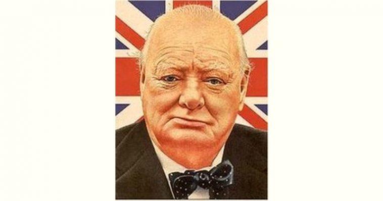 Winston Churchill Age and Birthday