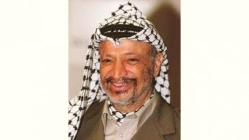 Yasser Arafat Age and Birthday