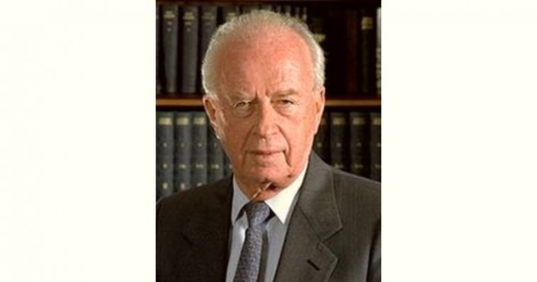 Yitzhak Rabin Age and Birthday