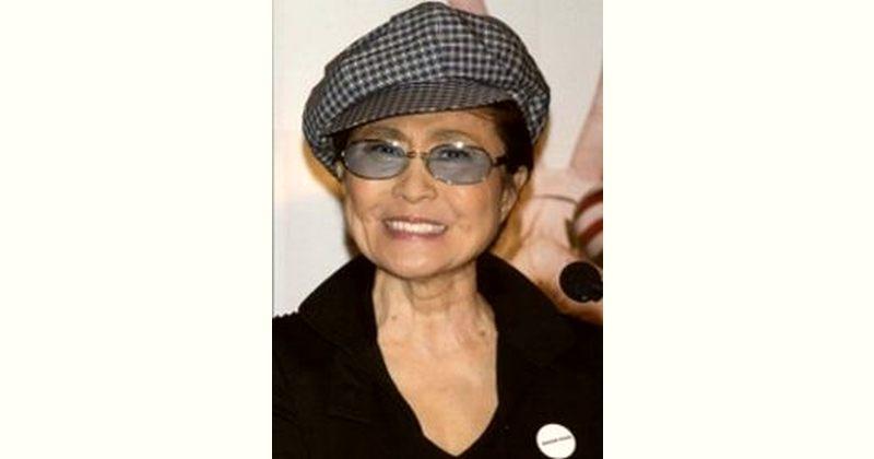 Yoko Ono Age and Birthday