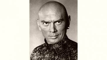 Yul Brynner Age and Birthday
