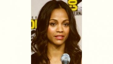 Zoe Saldana Age and Birthday