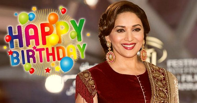 Bollywood Celebrates the Birthdays of Dimple and Madhuri 1